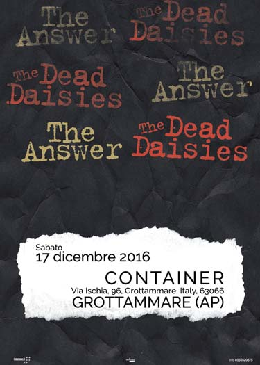 The Answer + Dead Daisies